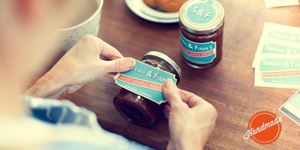 Labelling S&F jars
